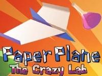 Флеш игра Бумажный самолетик в сумасшедшей лаборатории