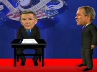 Флеш игра Буш против Кэрри: Дебаты