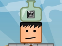 Флеш игра Бутылка на голове: Новые уровни