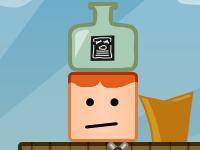 Флеш игра Бутылка на голове