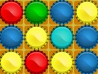 Флеш игра Бутылочные крыши в ряд