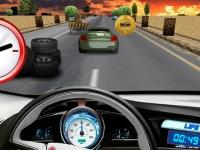 Флеш игра Быстрая езда 3D