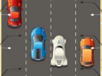 Флеш игра Быстрая езда по автобану