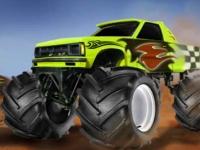Флеш игра Быстрые грузовики монстры