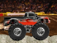 Флеш игра Быстрый грузовик монстр