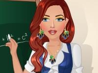 Флеш игра Быстрый макияж для учителя