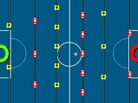 Флеш игра Быстрый настольный футбол
