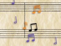 Флеш игра Цепная реакция нот