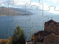 Флеш игра Церковь на озере: Пазл