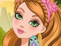 Флеш игра Чарующий макияж для Эшлин Эллы