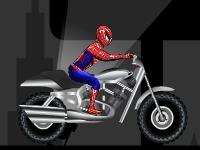 Флеш игра Человек паук: городской драйв