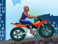 Флеш игра Человек паук на супер байке