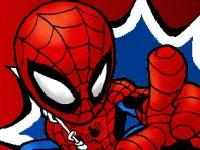 Флеш игра Человек паук против Бэтмена: пинбол