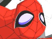 Флеш игра Человек паук раскраска