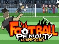 Флеш игра Чемпион по пенальти