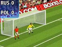 Флеш игра Чемпионат Европы по футболу: Штрафные