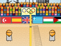 Флеш игра Чемпионат Лондона по волейболу