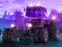 Флеш игра Чемпионат на тракторах