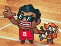 Флеш игра Чемпионат по баскетболу