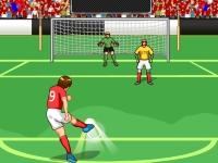 Флеш игра Чемпионат по штрафным ударам в футболе