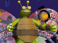 Флеш игра Черепашки ниндзя: Черепахолеты 3D
