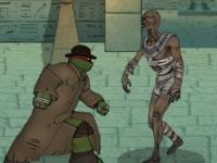 Флеш игра Черепашки ниндзя: Монстры против мутантов