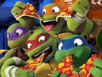 Флеш игра Черепашки ниндзя: Семейная викторина