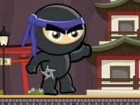 Флеш игра Черный ниндзя