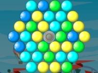 Флеш игра Чертово колесо из пузырей