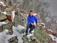 Флеш игра Чертово озеро: Зимний пазл