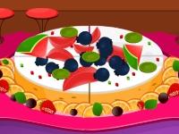 Флеш игра Чизкейк с фруктами