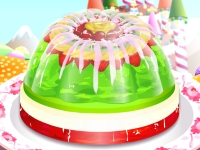 Флеш игра Чудесный торт из желе
