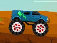 Флеш игра Чудовищные грузовики