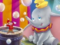 Флеш игра Цирк Дамбо: Пазл