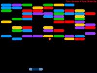 Флеш игра Цветной арканоид