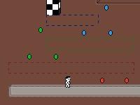 Флеш игра Цветной бегун