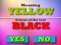Флеш игра Цветной текст челлендж