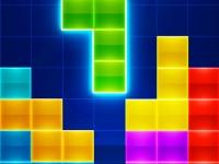 Флеш игра Цветной тетрис