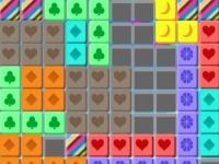 Флеш игра Цветные блоки