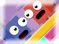 Флеш игра Цветные магниты