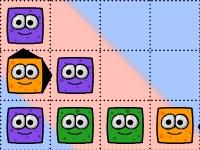 Флеш игра Цветные монстры