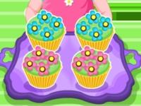 Флеш игра Цветочные кексы