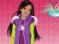 Флеш игра Цветочный магазин для Барби
