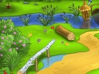 Флеш игра Цветочный рай: Поиск отличий