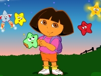 Флеш игра Даша Путешественница: Ловим звёзды