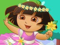 Флеш игра Даша Путешественница в мире цветов