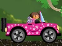 Флеш игра Даша путешественница: Гонка в лесу