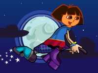 Флеш игра Даша путешественница: Ночь Хеллоуина