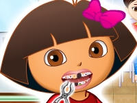 Флеш игра Даша путешественница: Великолепные зубы