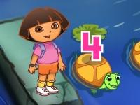 Флеш игра Даша путешественница и пирамида цифр